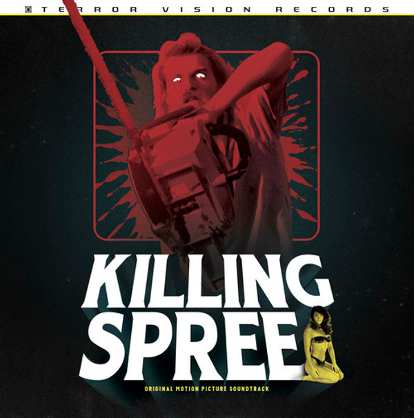 PERRY MONROE: Killing Spree OST LP