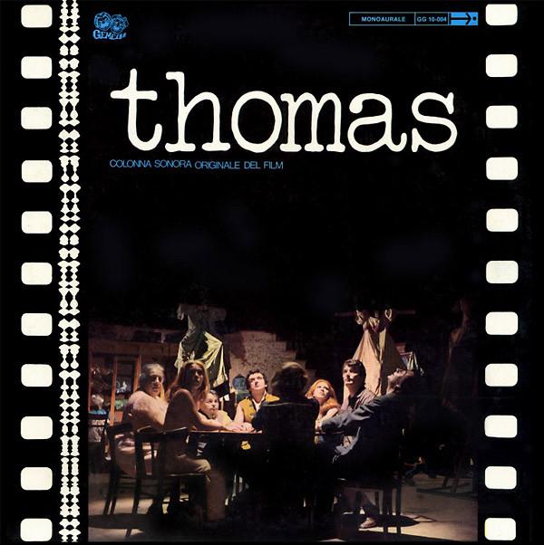 AMEDEO TOMMASI: Thomas: Colonna Sonora Originale Del Film LP