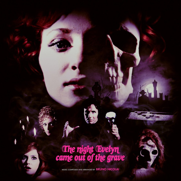 BRUNO NICOLAI: The Night Evelyn Came Out Of The Grave LP