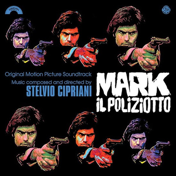 STELVIO CIPRIANI: Mark Il Poliziotto LP