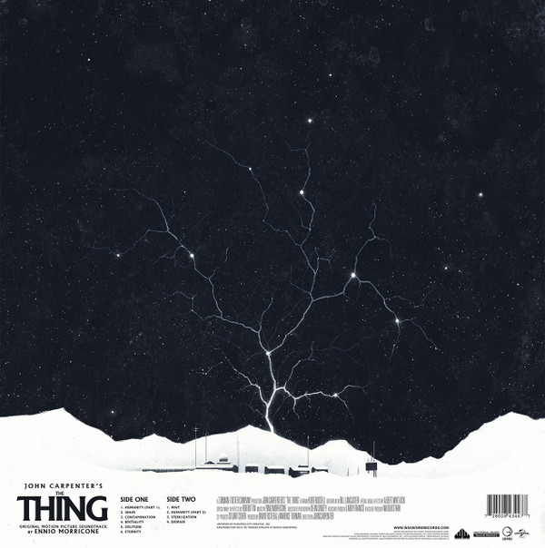 ENNIO MORRICONE: The Thing (1982 Original Soundtrack) LP