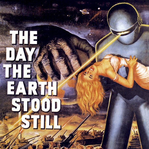 "BERNARD HERRMANN: The Day The Earth Stood Still (1951 Original Soundtrack) 10"""