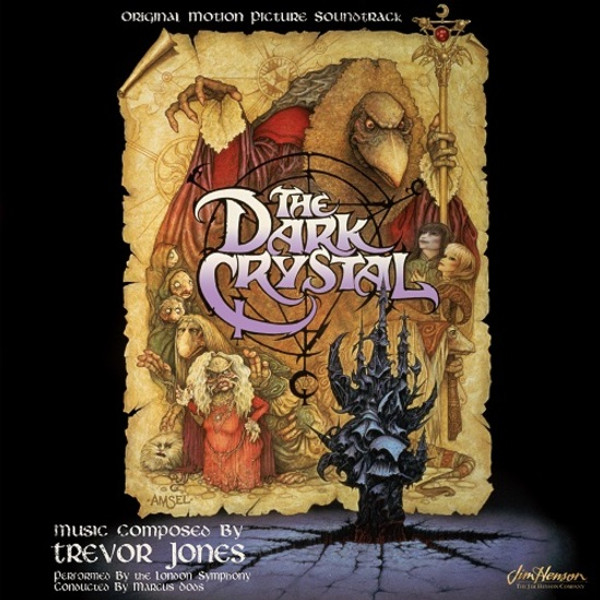 TREVOR JONES: The Dark Crystal: The 1982 Original Soundtrack LP