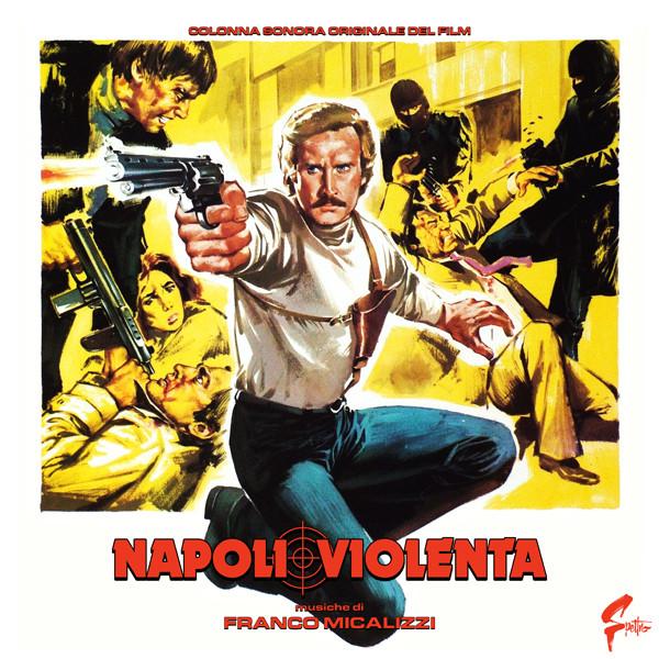 FRANCO MICALIZZI: Napoli Violenta LP+POSTER
