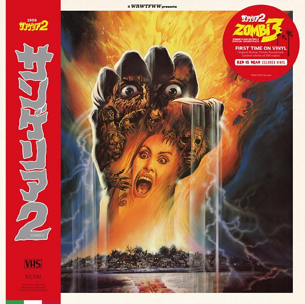 STEFANO MAINETTI: Zombi 3 Soundtrack (Classic Version/Red Vinyl) LP