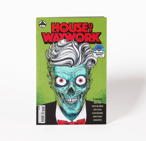 HOUSE OF WAXWORK ISSUE 1 Occult Slumber Party Green Splatter
