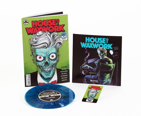 HOUSE OF WAXWORK ISSUE 1 Lighthouse Keeper Blue Splatter