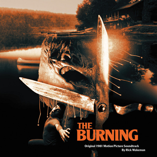RICK WAKEMAN: The Burning (1981 Original Soundtrack) (Black Vinyl) LP