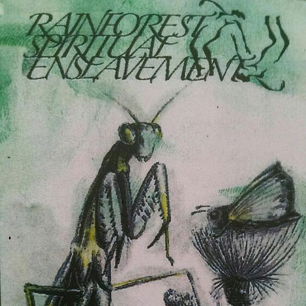 RAINFOREST SPIRITUAL ENSLAVEMENT: Green Amulet Crafts Supernatural Qualities LP