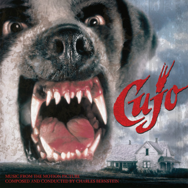 """CHARLES BERNSTEIN: Cujo: Music from the Motion Picture Limited Black & Brown """"St. Bernard"""" Edition LP"""