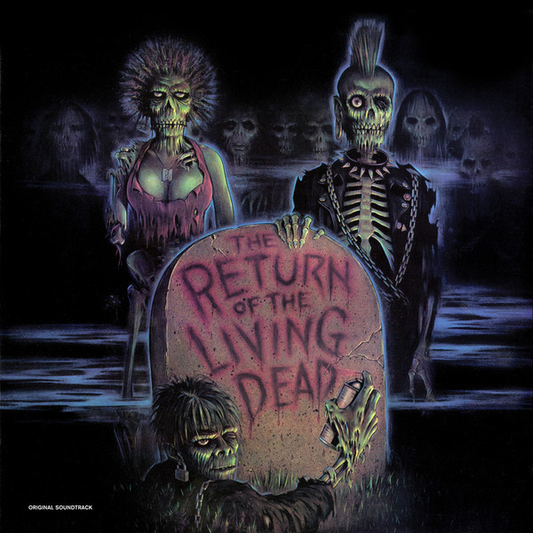 V/A: The Return Of the Living Dead (Original Motion Picture Soundtrack) (Black & Brown Vinyl) LP