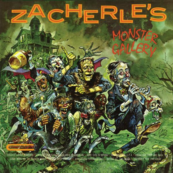 """ZACHERLE: Zacherle's Monster Gallery Limited Orange & Green """"Pumpkin"""" Edition LP"""