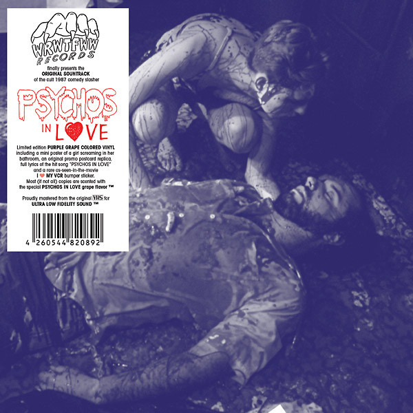 "CARMINE CAPOBIANCO: Psychos In Love (Original Soundtrack) 7"""