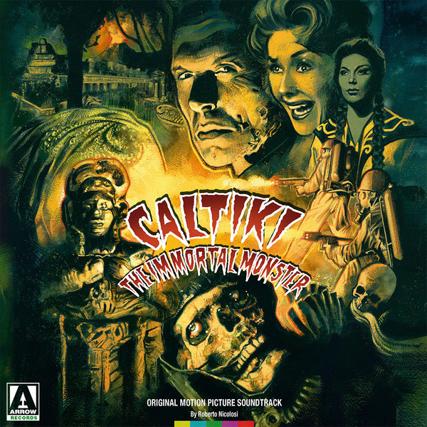 ROBERTO NICOLOSI: Caltiki, The Immortal Monster (Translucent Green) LP