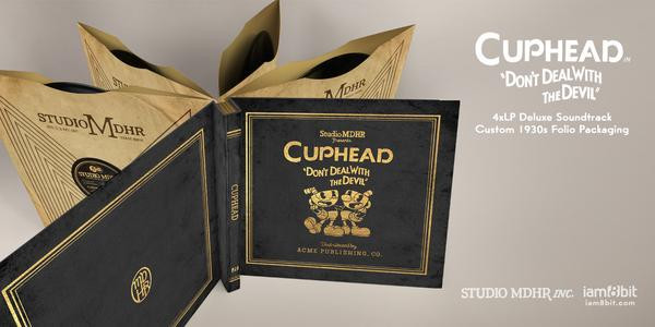 Kristofer Maddigan Cuphead Deluxe Soundtrack 4LP