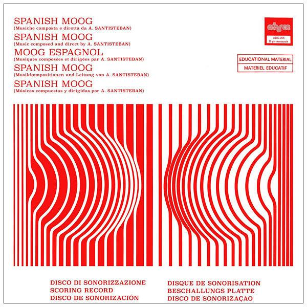ALFONSO SANTISTEBAN: Spanish Moog LP