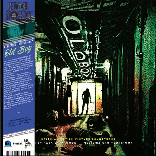 YEONG-WOOK JO: Oldboy - Original Motion Picture Soundtrack (Vengeance Trilogy Part. 2) (RSD 2018) 2LP