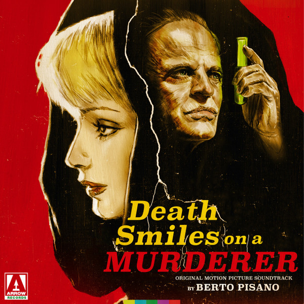 BERTO PISANO: Death Smiles On A Murderer (Original Motion Picture Soundtrack) 2LP