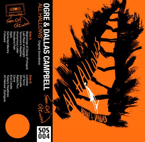 OGRE AND DALLAS CAMPBELL: All Hallows' (Pumpkin Orange) Cassette
