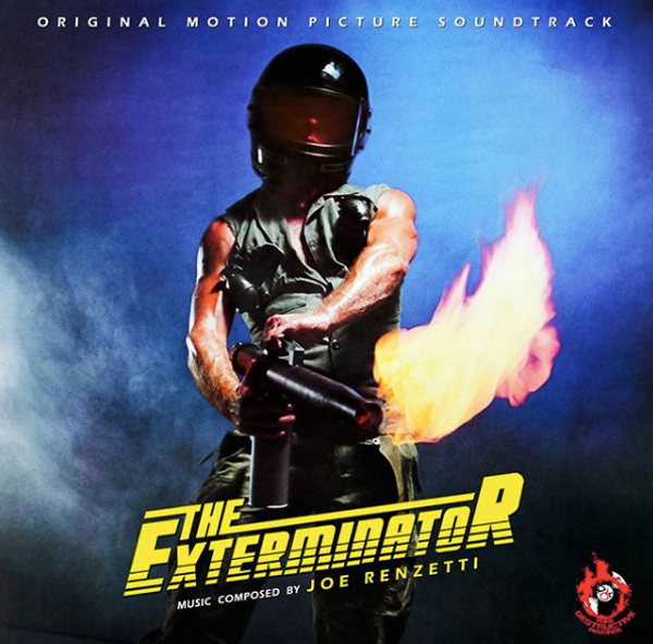 JOE RENZETTI: The Exterminator (Red/Yellow/Black marble) LP