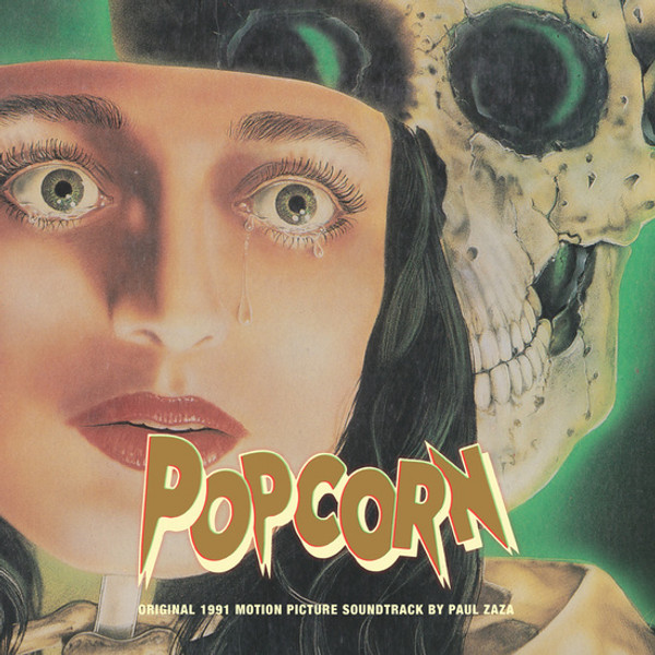 PAUL ZAZA: Popcorn (Original 1991 Motion Picture Soundtrack) (Color) LP