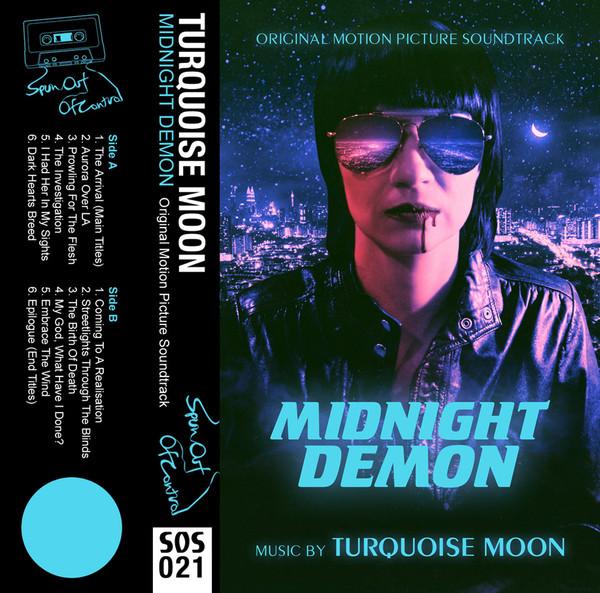 TURQUOISE MOON: Midnight Demon (Neon Blue) Cassette