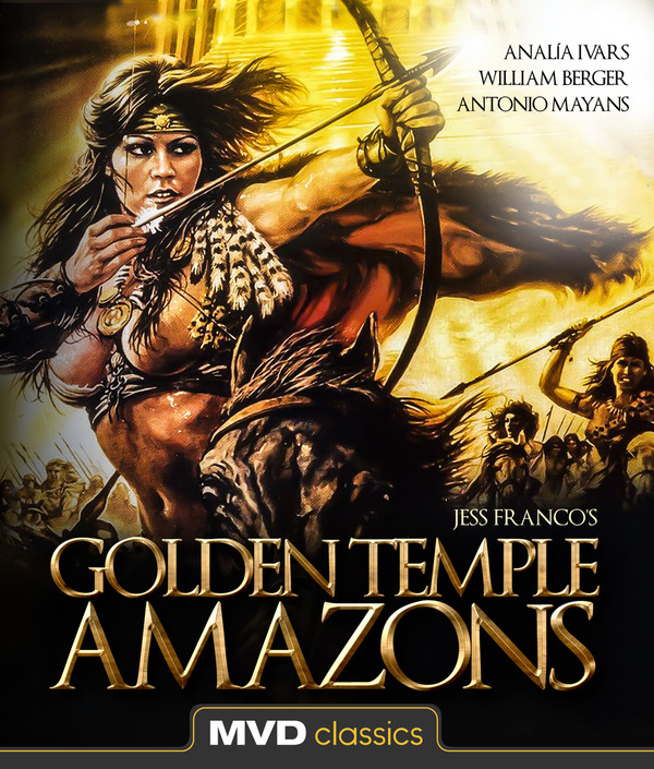 Golden Temple Amazons Blu-Ray