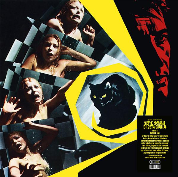 MANUEL DE SICA: Sette Scialli Di Seta Gialla LP