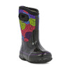 BOGS Kid's Classic Rosey Insulated Waterproof Gumboots with Pull Handles