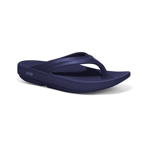 Oofos OO-la-la Thongs - Flip Flops Womens Navy (1400NVY)