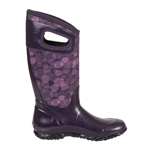 BOGS North Hampton Insulated Rain Boots in Magenta (972110-651)