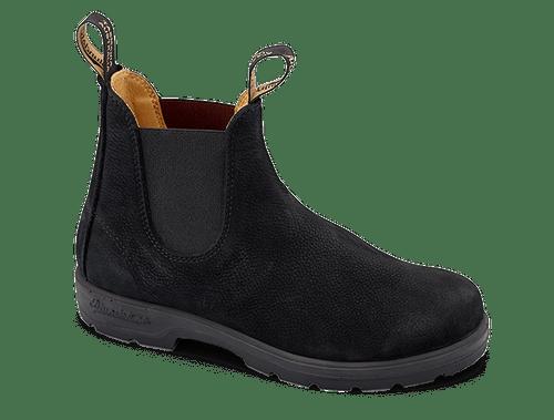 Blundstone 1466 Black Nubuk Leather Boots (1466)