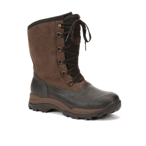 Muck Boots Arctic Outpost Lace Mid Height Insulated Waterproof Snow Boots (SAOL-900)