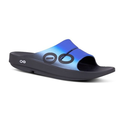 Oofos Ooahh Sports Slides in Wave (1500BWV)