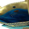 Tarini Beaded Aqua Blue Tote