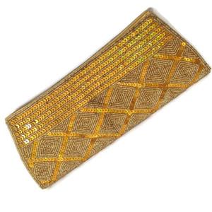 Tarini Minimalist Gold Clutch