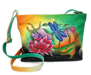 Tarini Handpainted leather