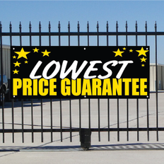 Lowest Price Guarantee Banner - Celebration
