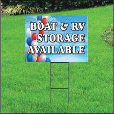 Boat & RV Storage Self Storage Sign - Balloon Sky
