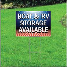 Boat & RV Storage Self Storage Sign - Patriotic