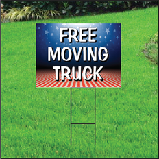 Free Moving Truck Self Storage Sign - Patriotic