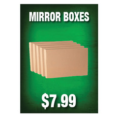 Mirror Boxes Sign