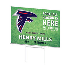 "School Spirit 18"" x 24"" Yard Signs"