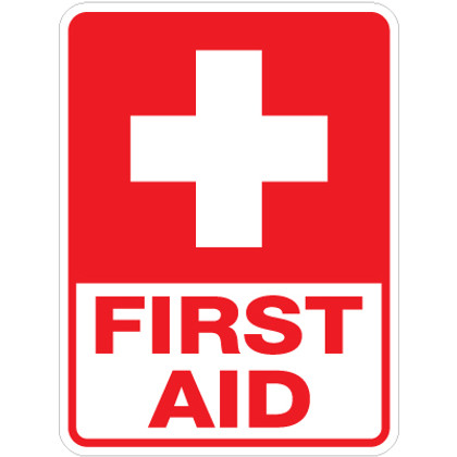 """First Aid Sign - 18"""" x 24"""""""