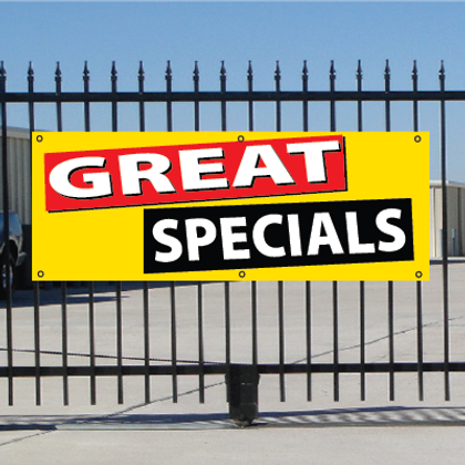 Great Specials Banner - Festive