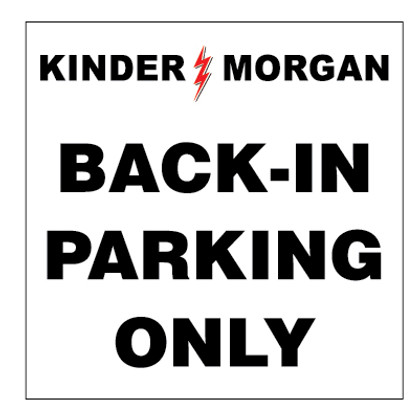 Back In Parking Only