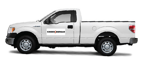 Kinder Morgan Vehicle Magnets