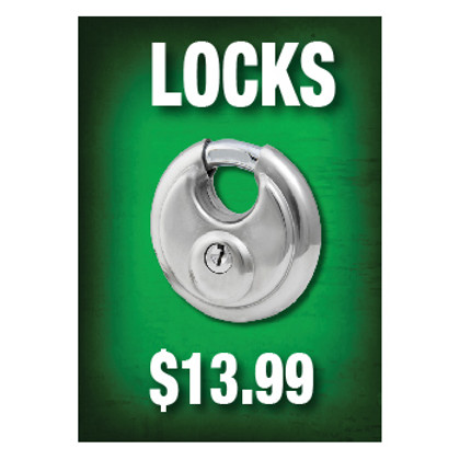 Locks Sign