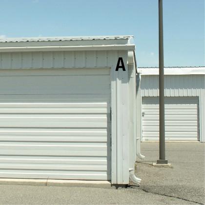Self Storage Building Unit Decal