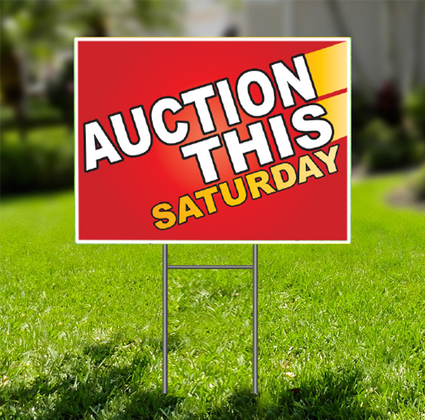 Auction This Saturday  for Self Storage -  Dash In